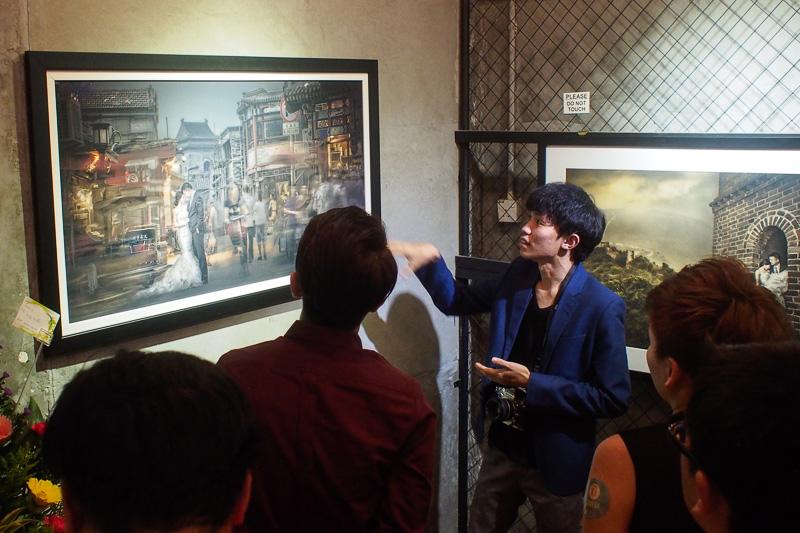 Keda explaining behind the scenes